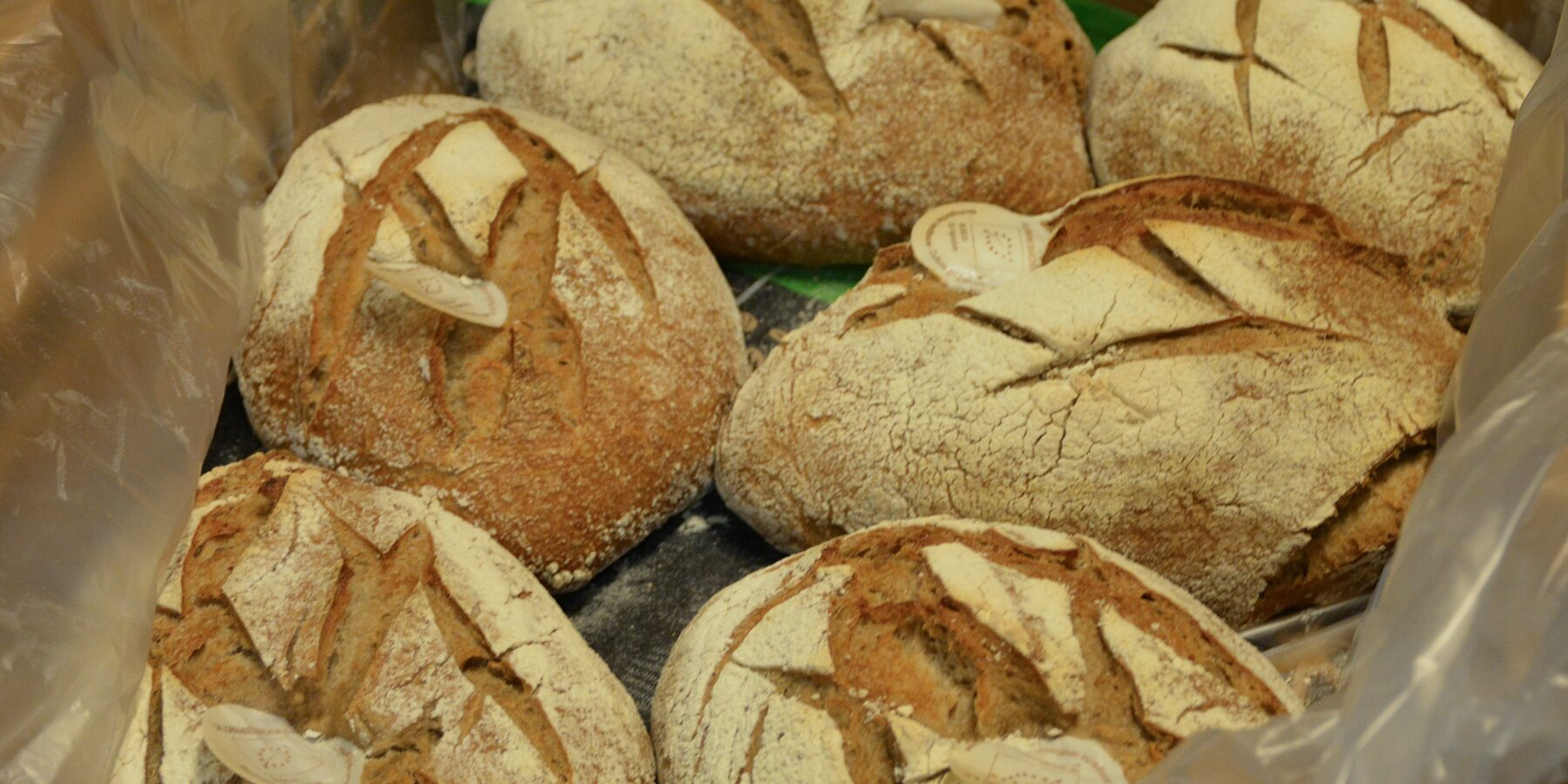Sourdough baking eliminates the need for yeast and synthetic preservatives.