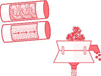 Conveying & sifting